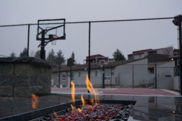 cougar ridge apartments fire pit