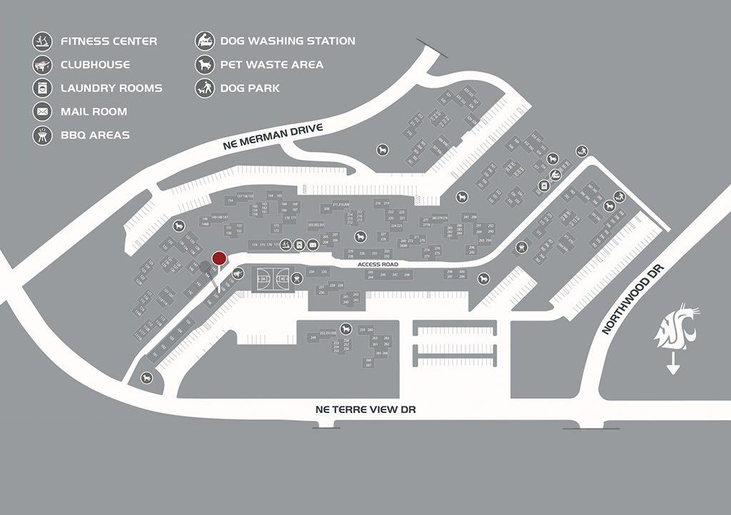 Cougar Ridge Map